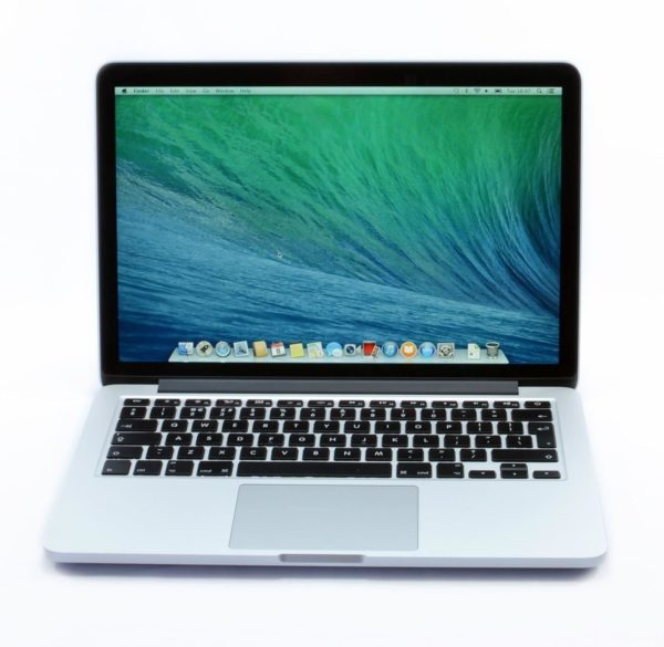 2012 Apple MacBook Pro Retina 13 inch – Intel Core i5 2.5 GHz. 8 GB. 128GB. MD212.