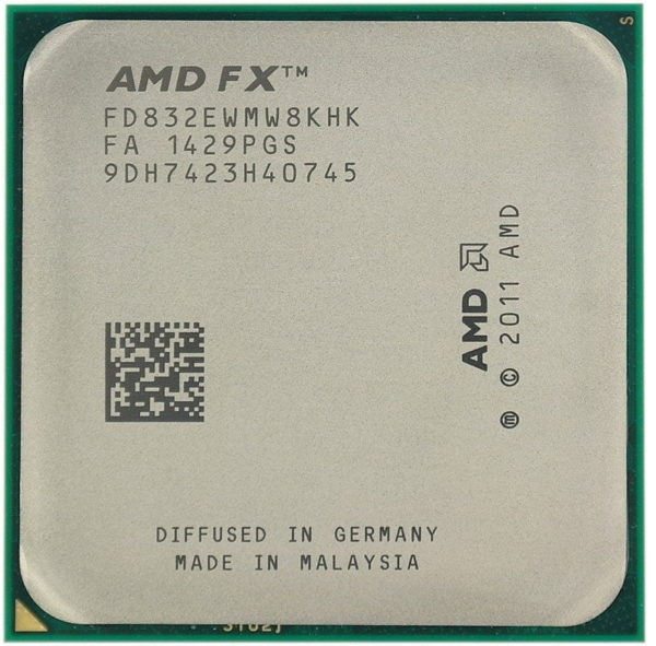 AMD FX8320 8 Core 3.5/4.0GHz CPU Only