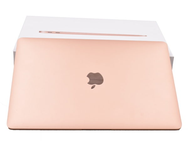 2018 Apple MacBook Air with Retina Display. 13.3″. Intel Core i5 1.6GHz. 8GB RAM. 128GB Flash Storage. Rose Gold