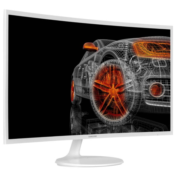 32″ Samsung Curved Business Monitor C32F391FWU with Viewing comfort