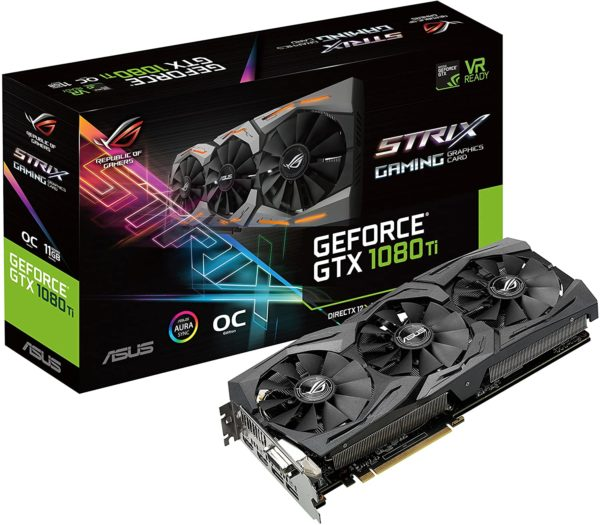 Asus ROg Strix GeForce GTX 1080 Ti 11G Gaming